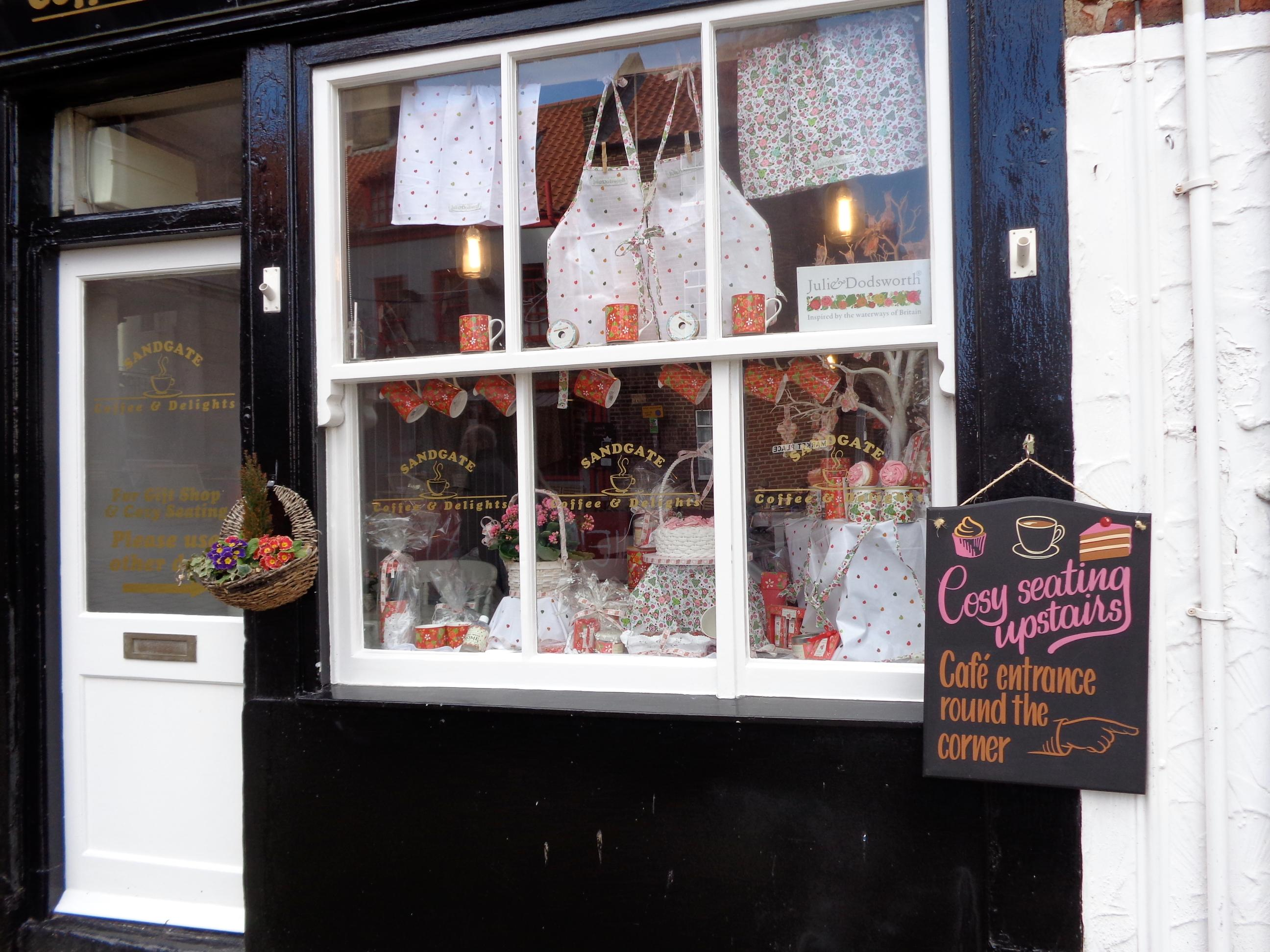 Sandgate Coffee & Delights, Whitby