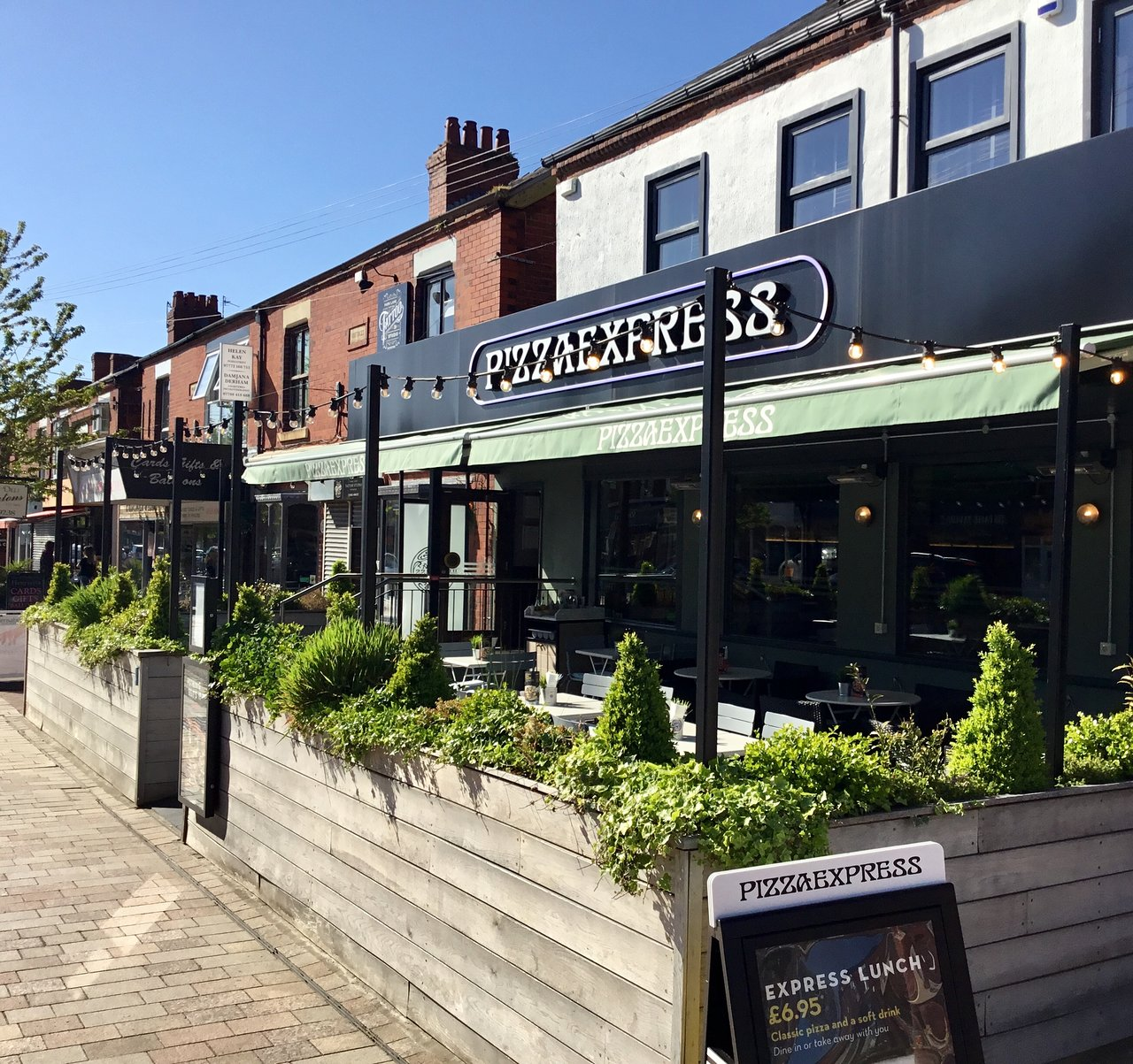 Pizza Express In Poynton Original Menus Reviews And Prices