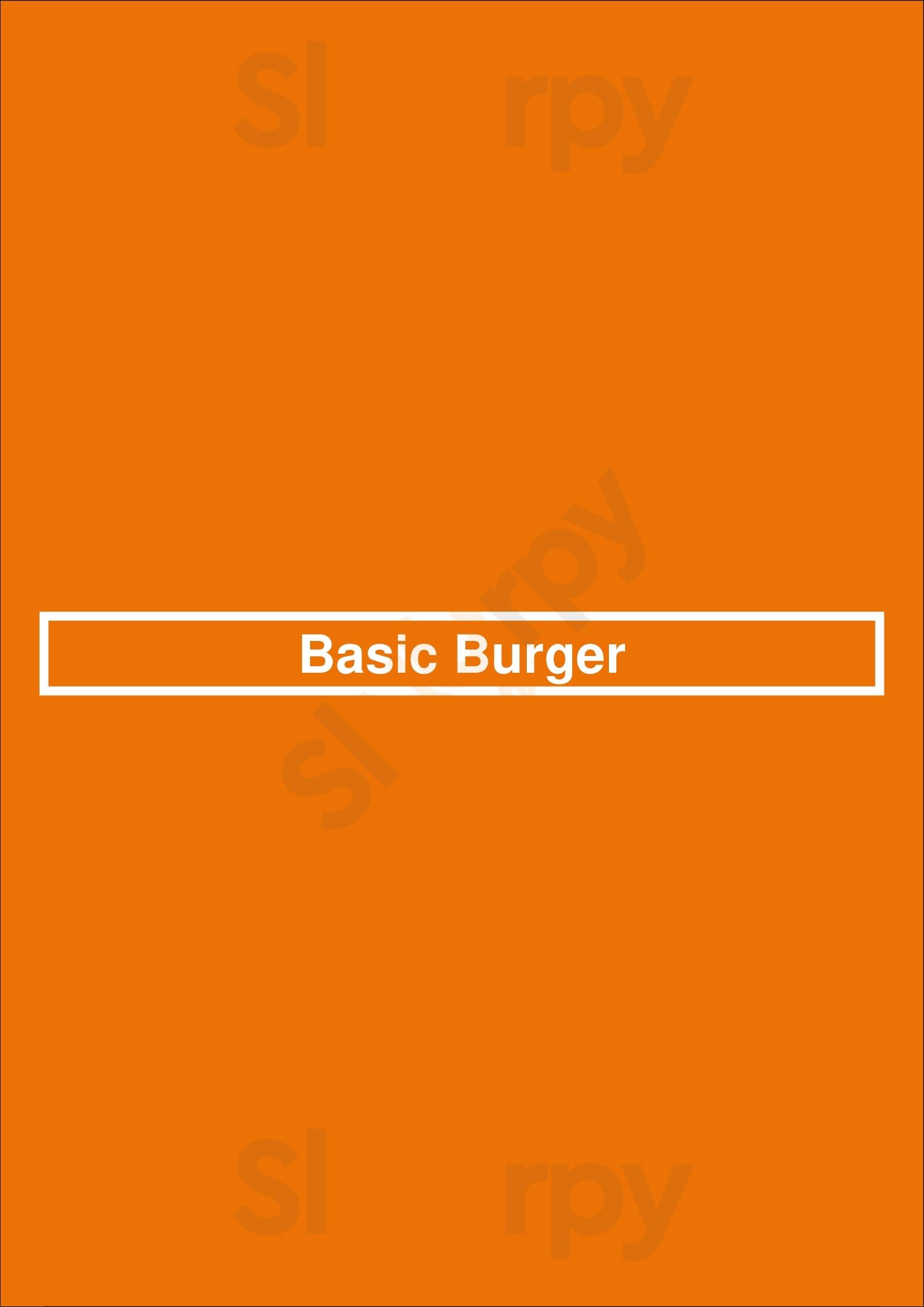 Basic Burger São Paulo Menu - 1