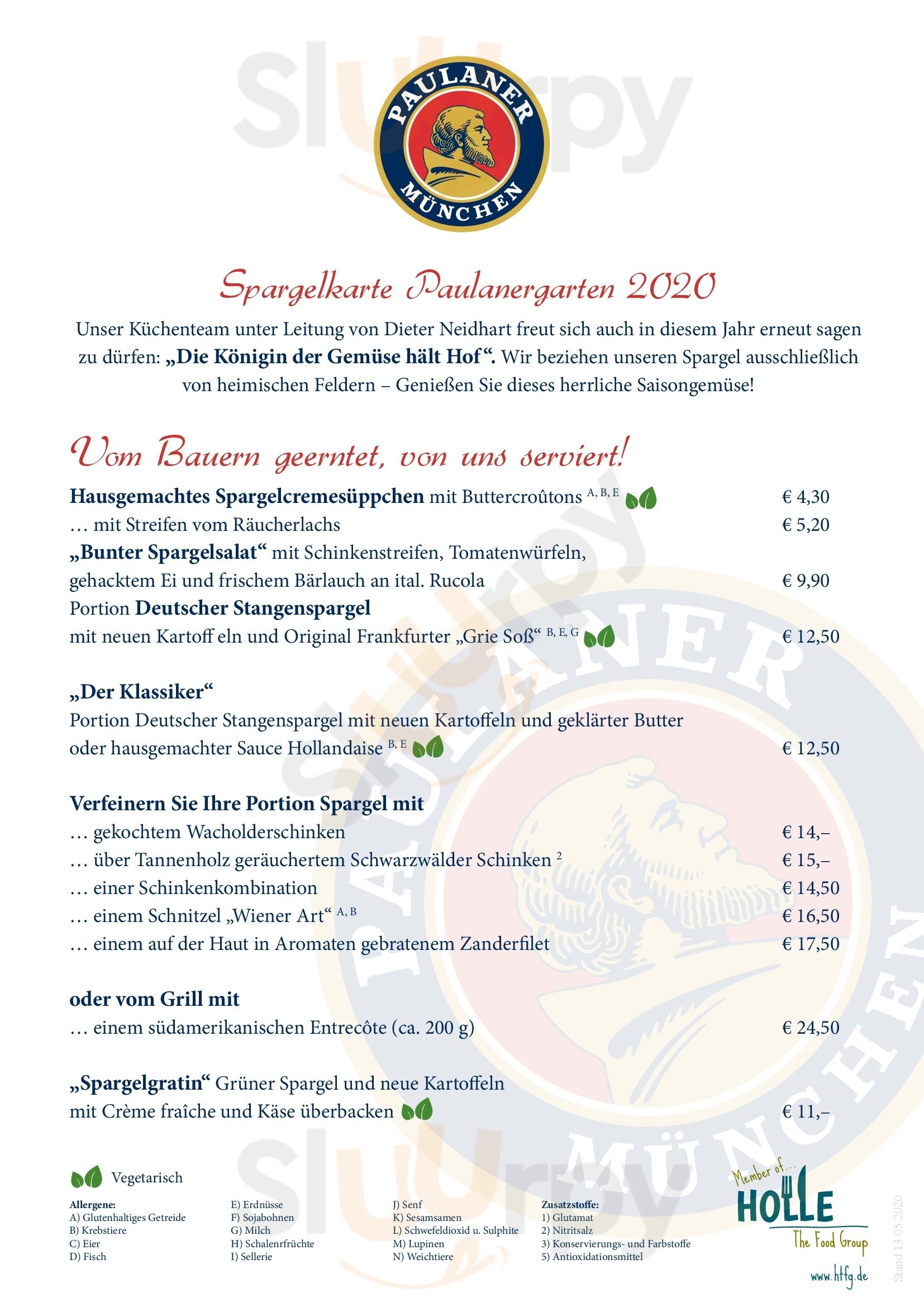 Holle's Am Schlossgarten Hanau Menu - 1