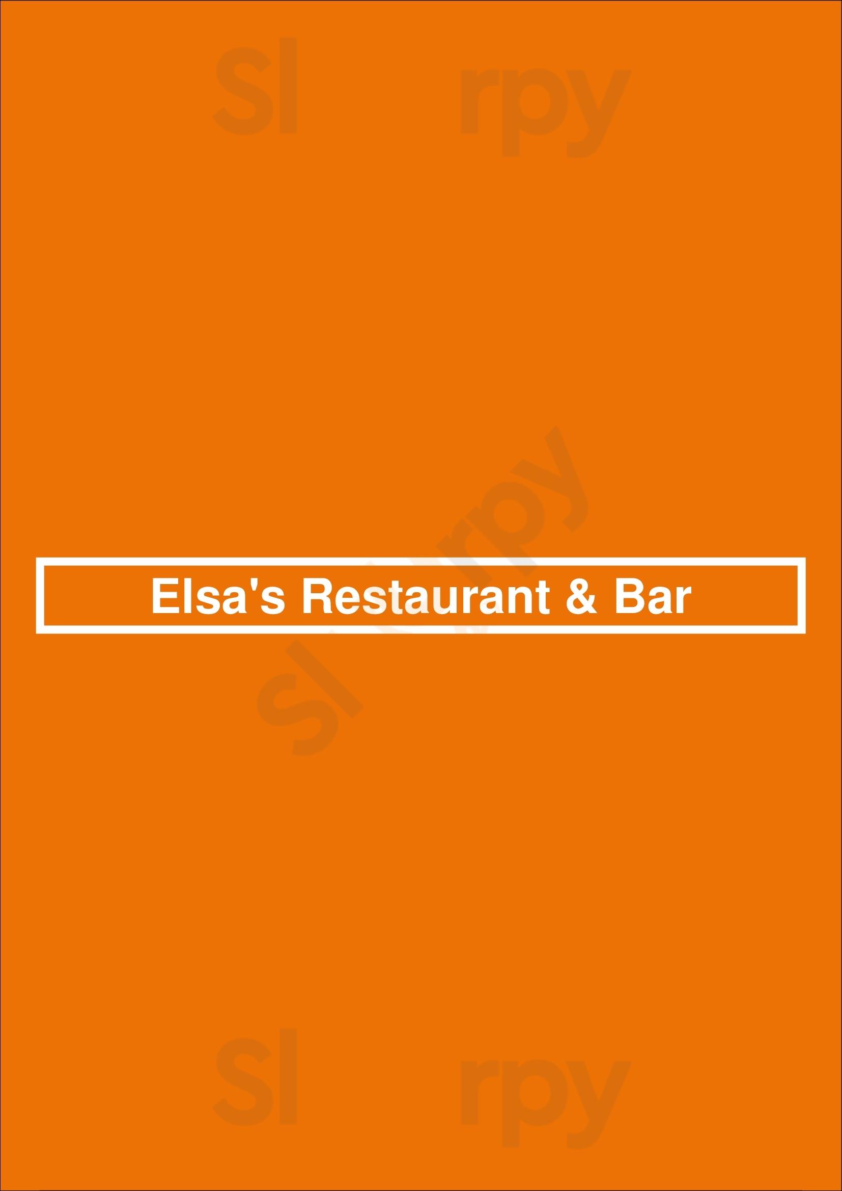Elsa's Restaurant & Bar Hamburg Menu - 1
