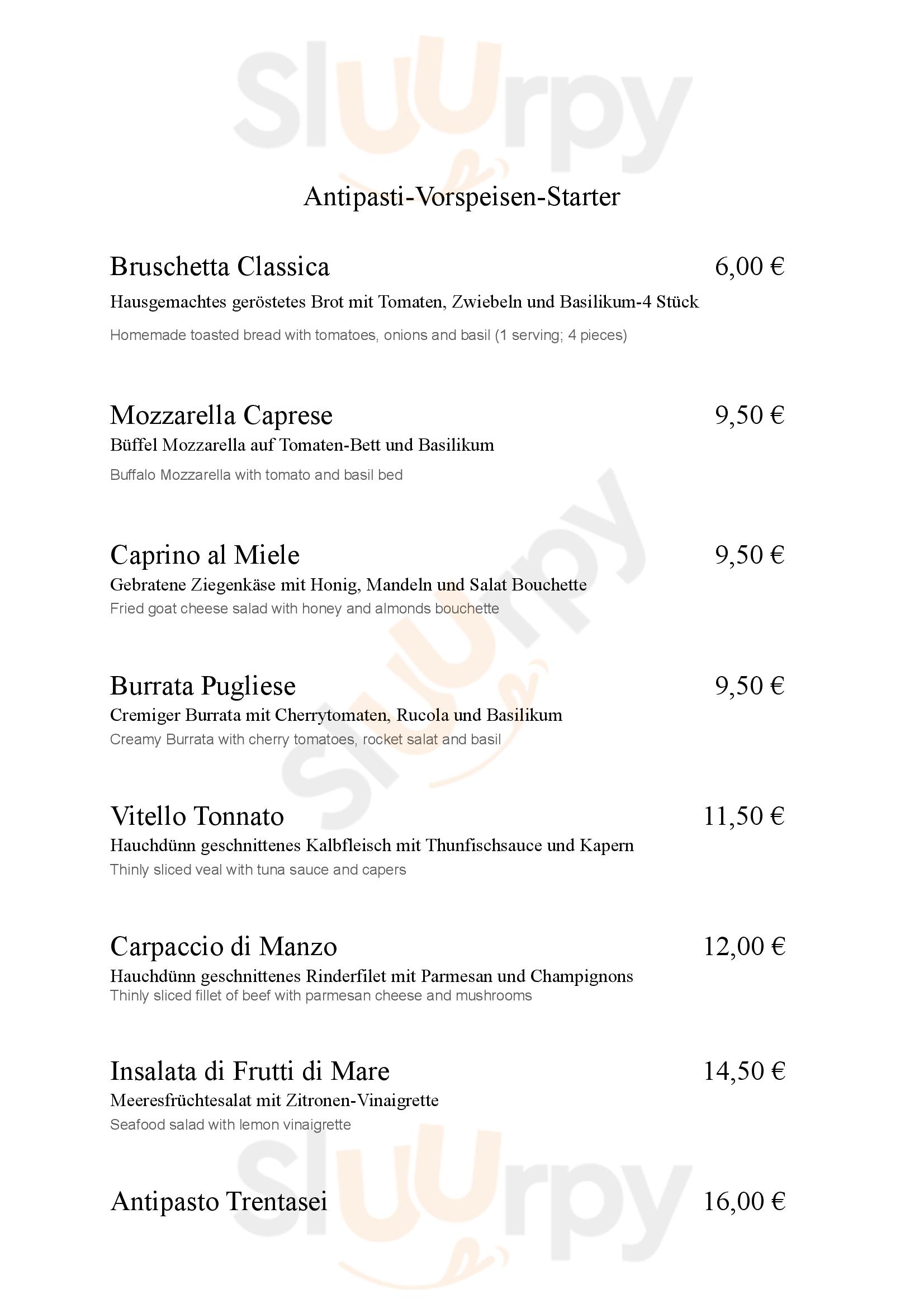 Trentasei Cucina Italiana Berlin menù - pagina 1