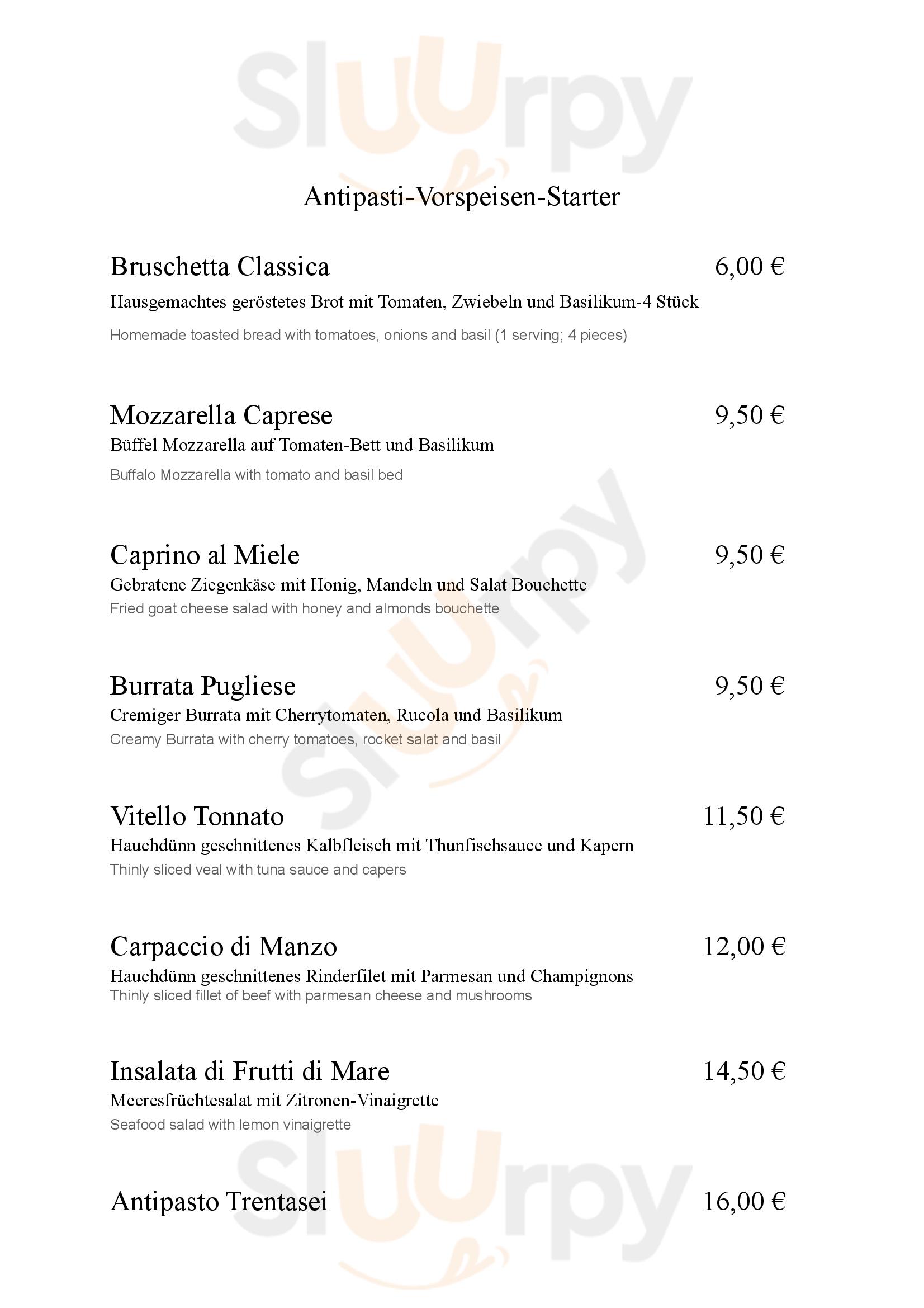 Trentasei Cucina Italiana Berlin Menu - 1