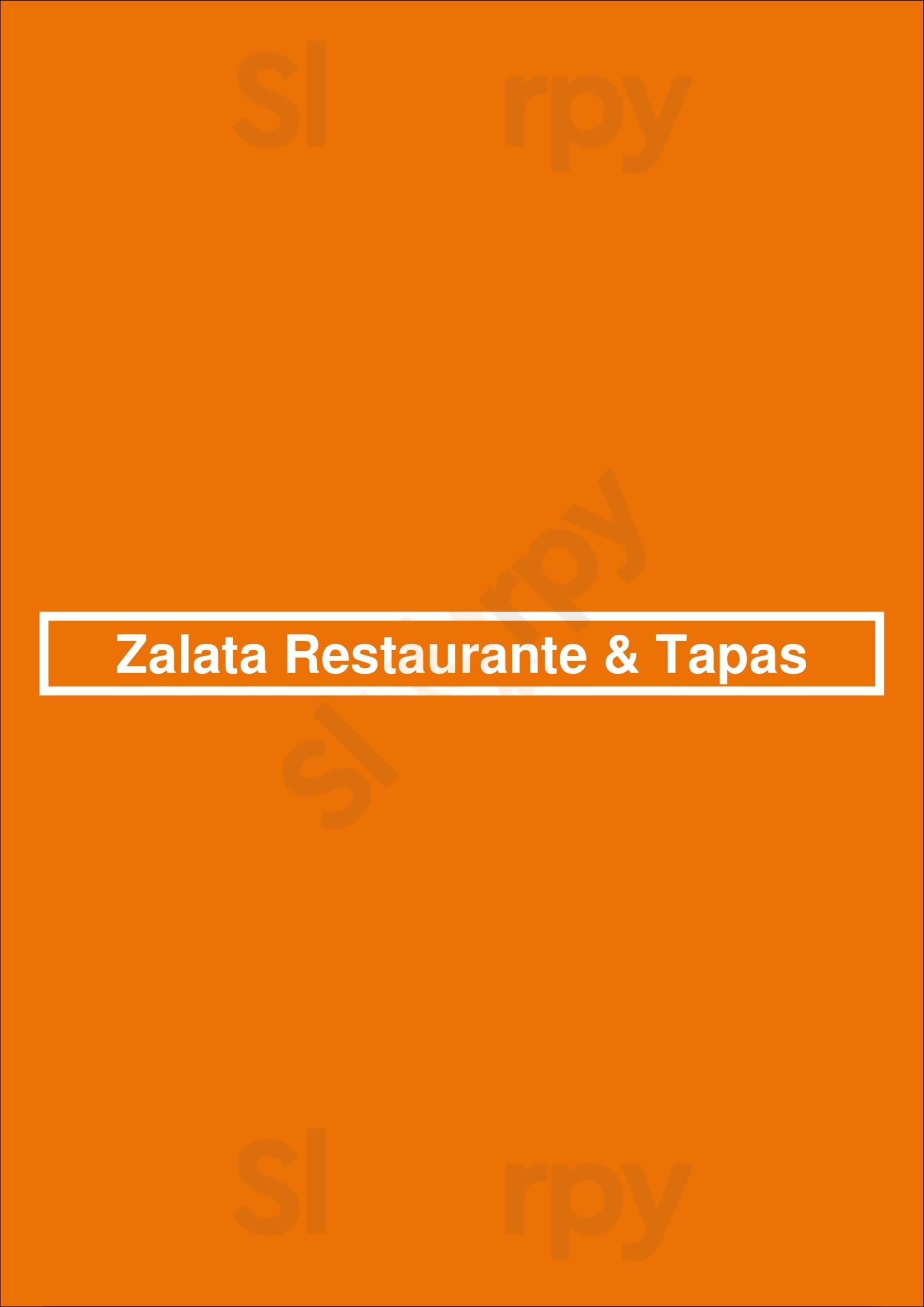 Zalata Restaurante & Tapas Sevilla menù - pagina 1