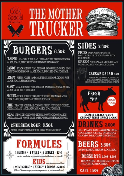 The Mother Trucker, Cagnes-sur-Mer