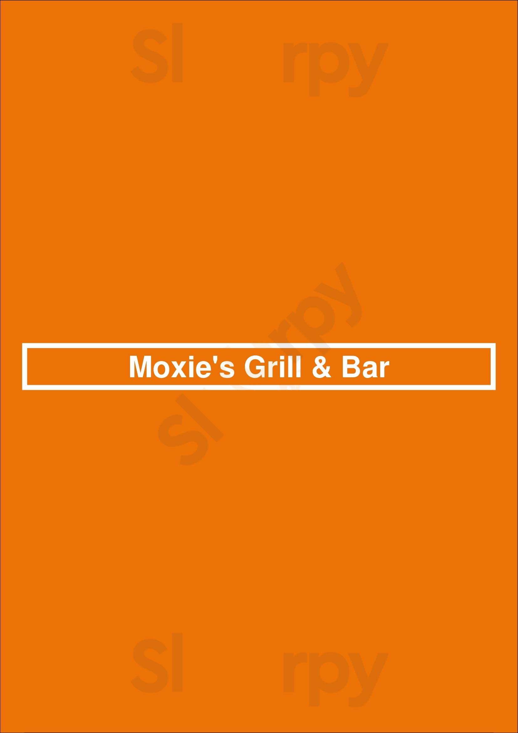 Moxie's Grill & Bar London Menu - 1