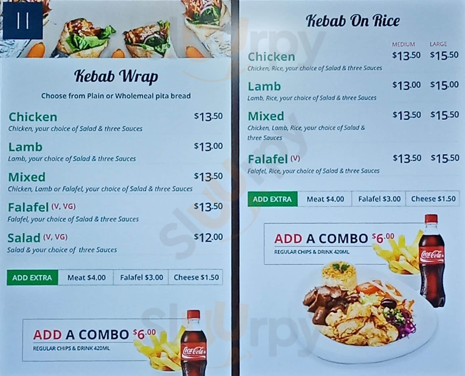 Kebabs On Queen Auckland Central Menu - 1