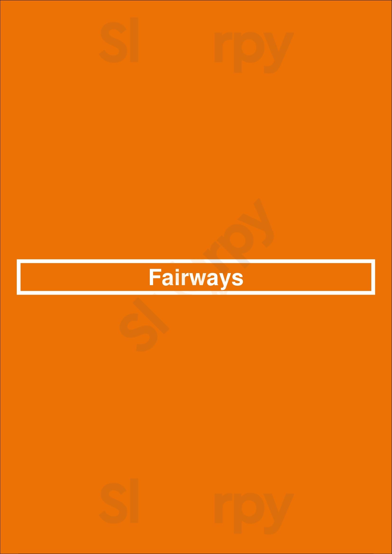 Fairways Vilamoura  Menu - 1