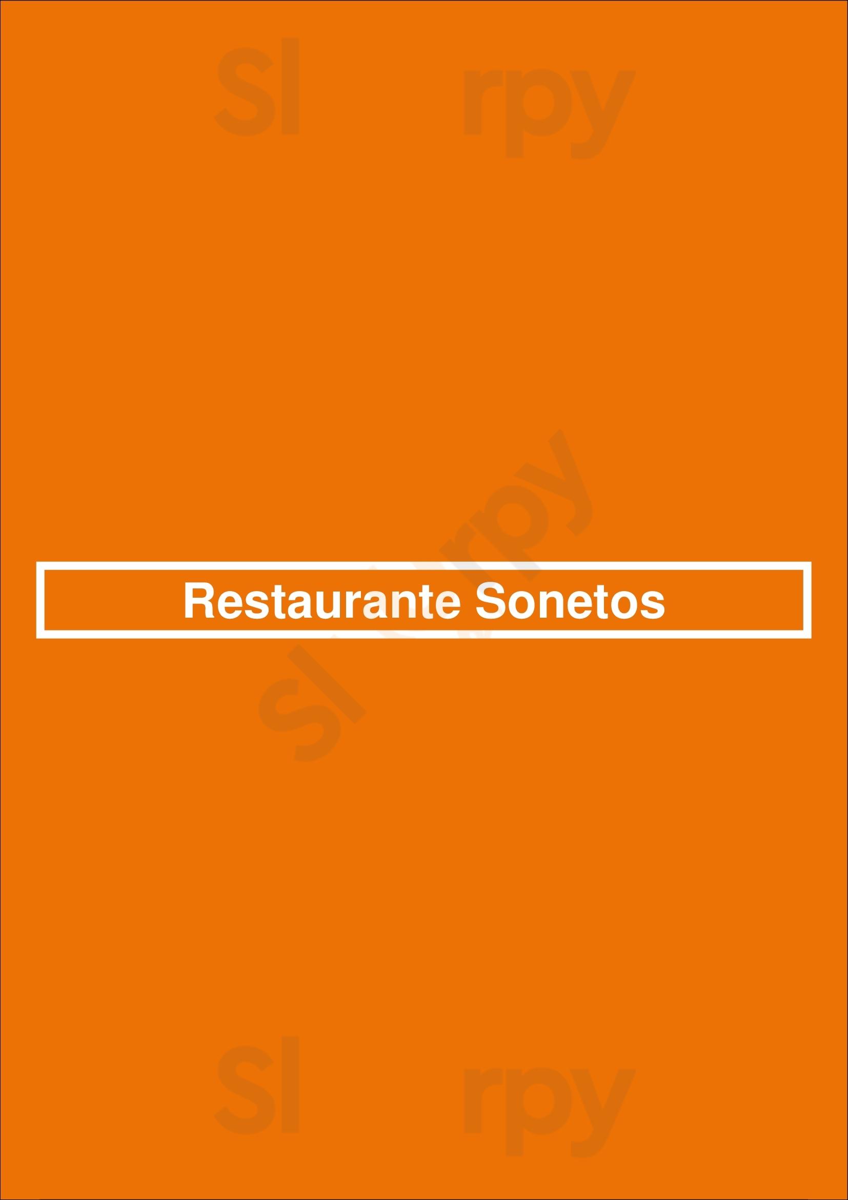 Restaurante Sonetos Porto Menu - 1