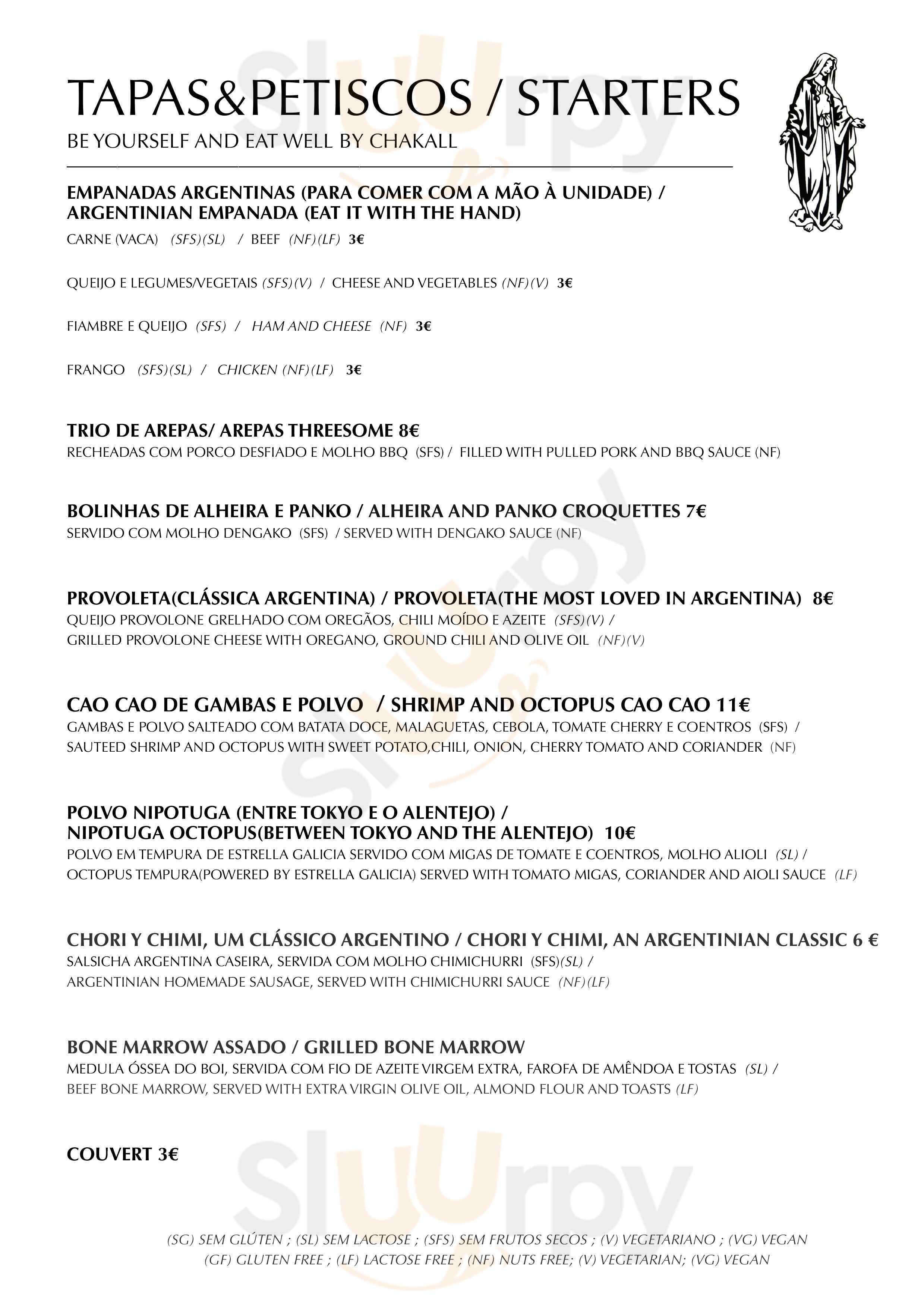 El Bulo Social Club Lisboa menù - pagina 1