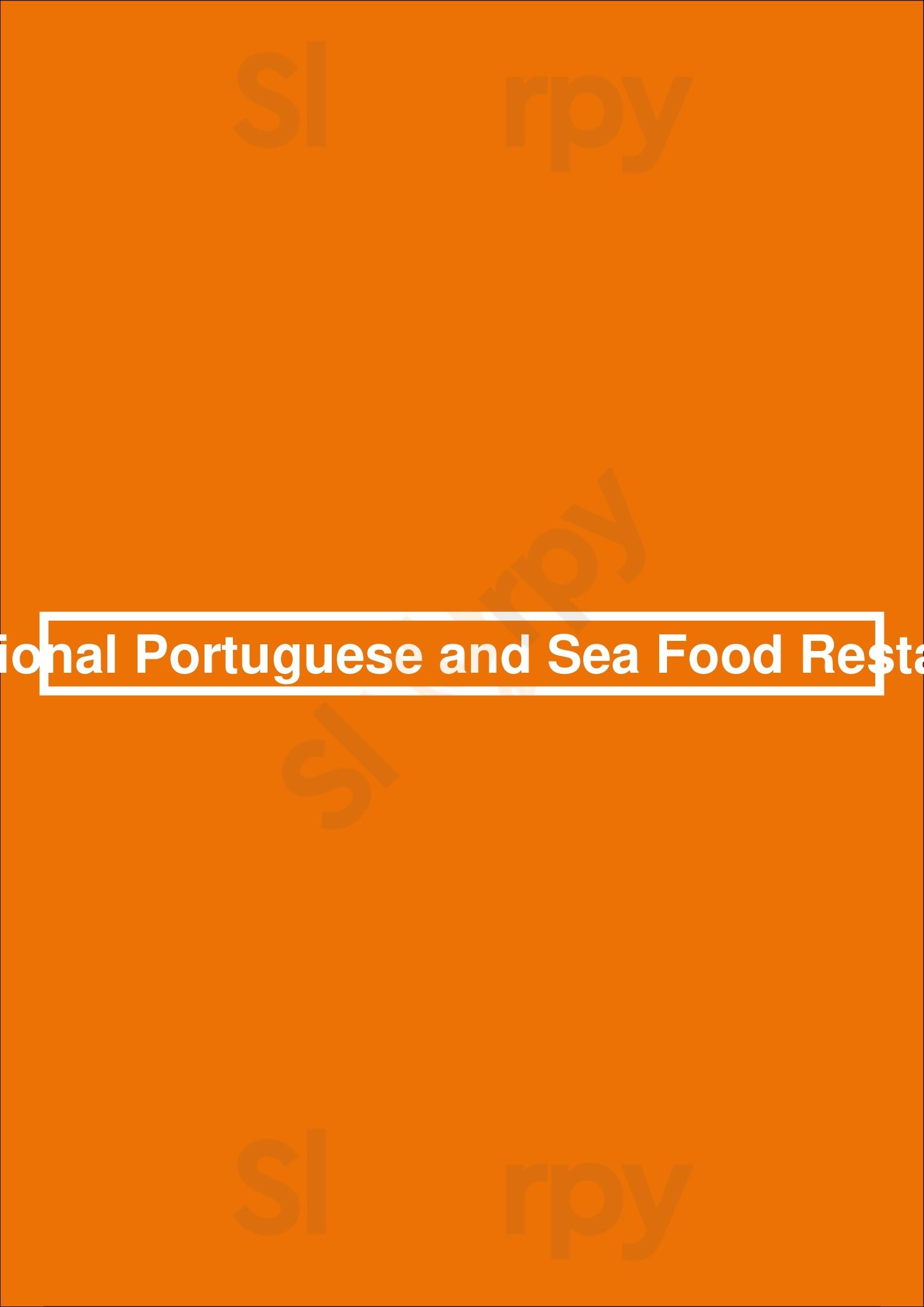 Traditional Portuguese And Sea Food Restaurant Lisboa menù - pagina 1