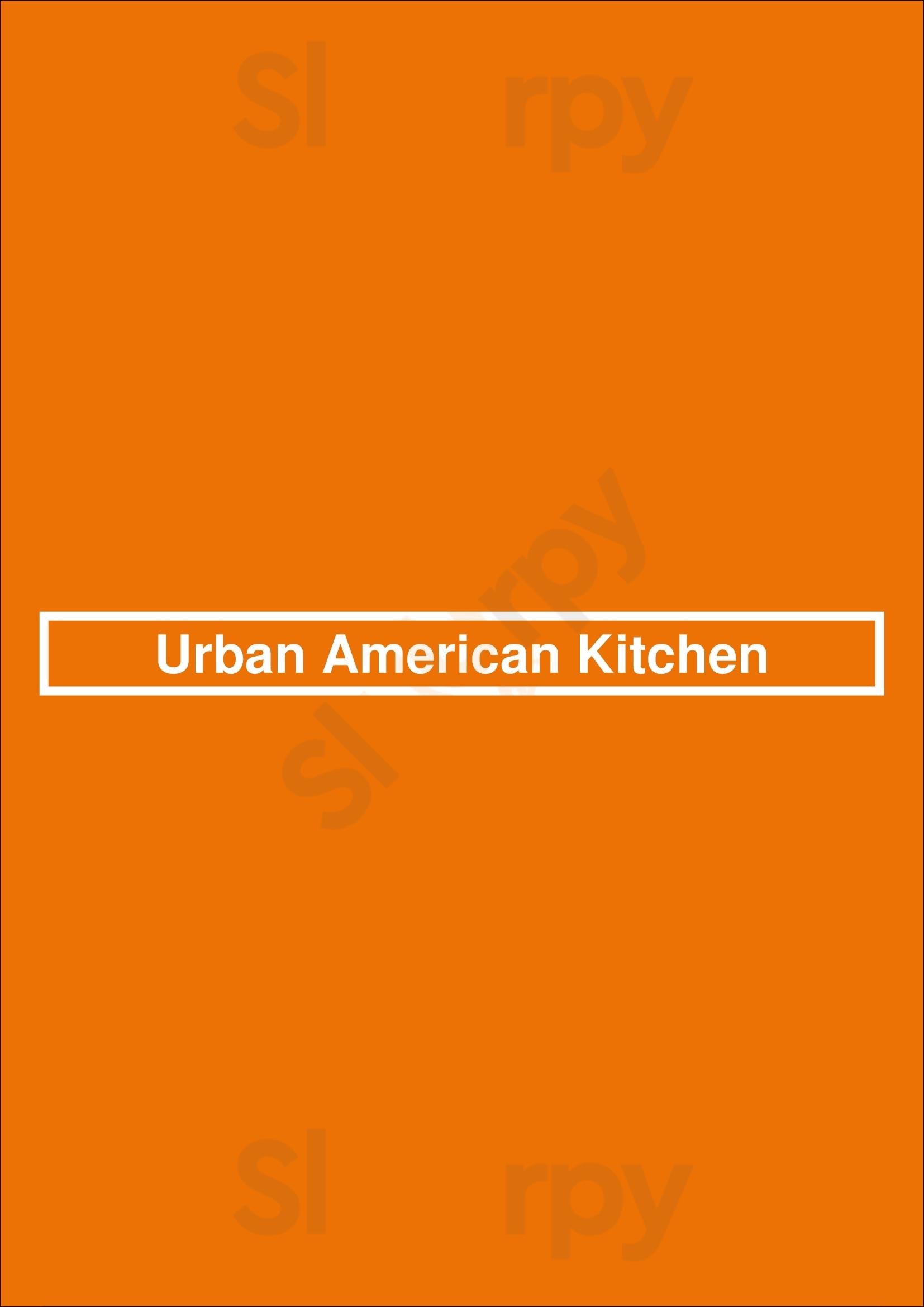 Urban American Kitchen Houston Menu - 1