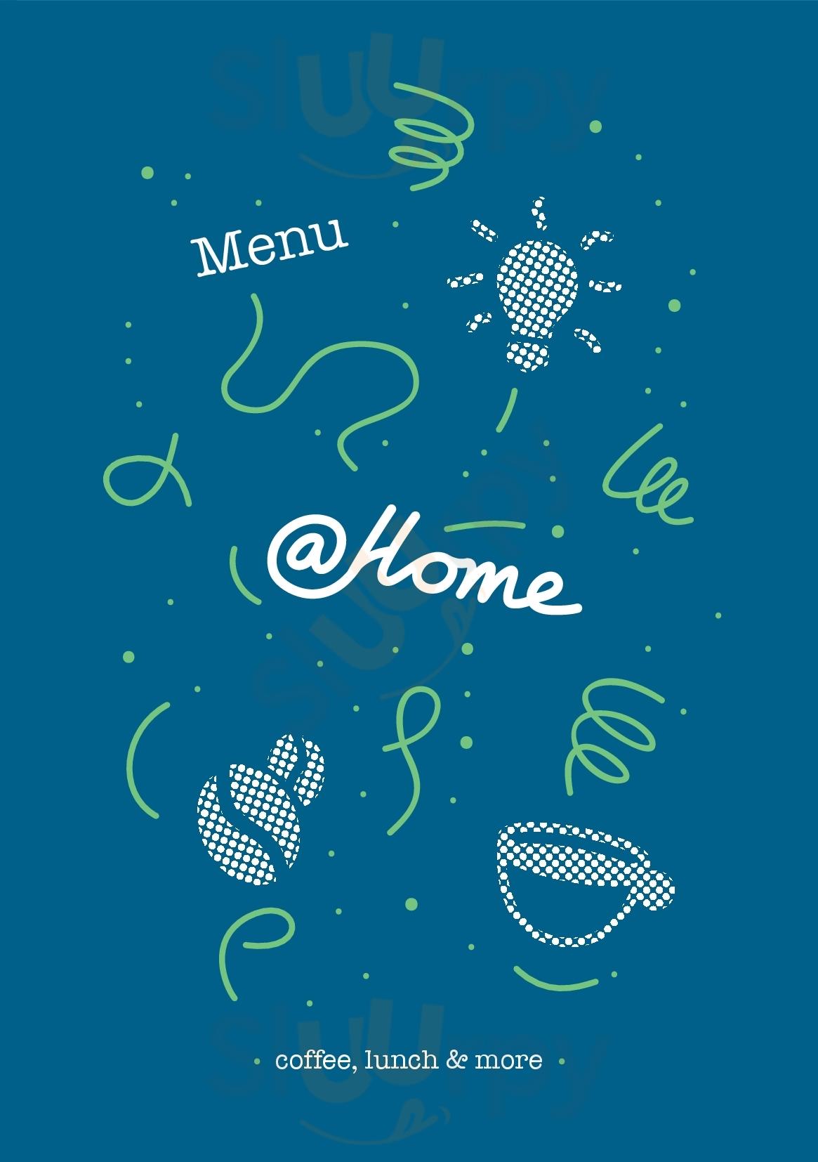 Cafe At Home Rotterdam Menu - 1